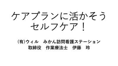 02.11.17 伊藤氏資料 ケアプランに活かそうセルフケア (1)のサムネイル